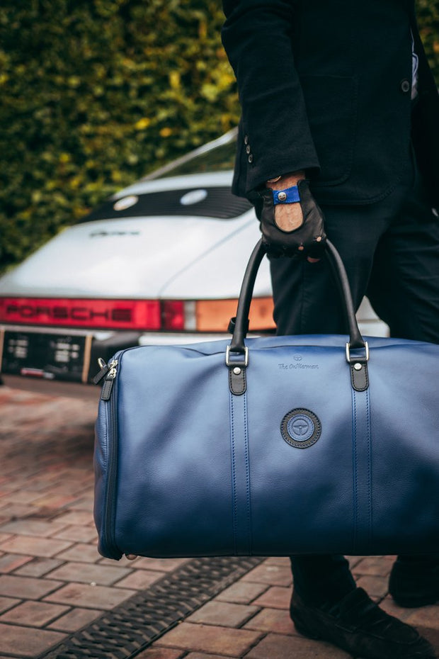 Weekender Garment Bag - Blue/Black