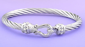 Stainless Steel Hook Bangle