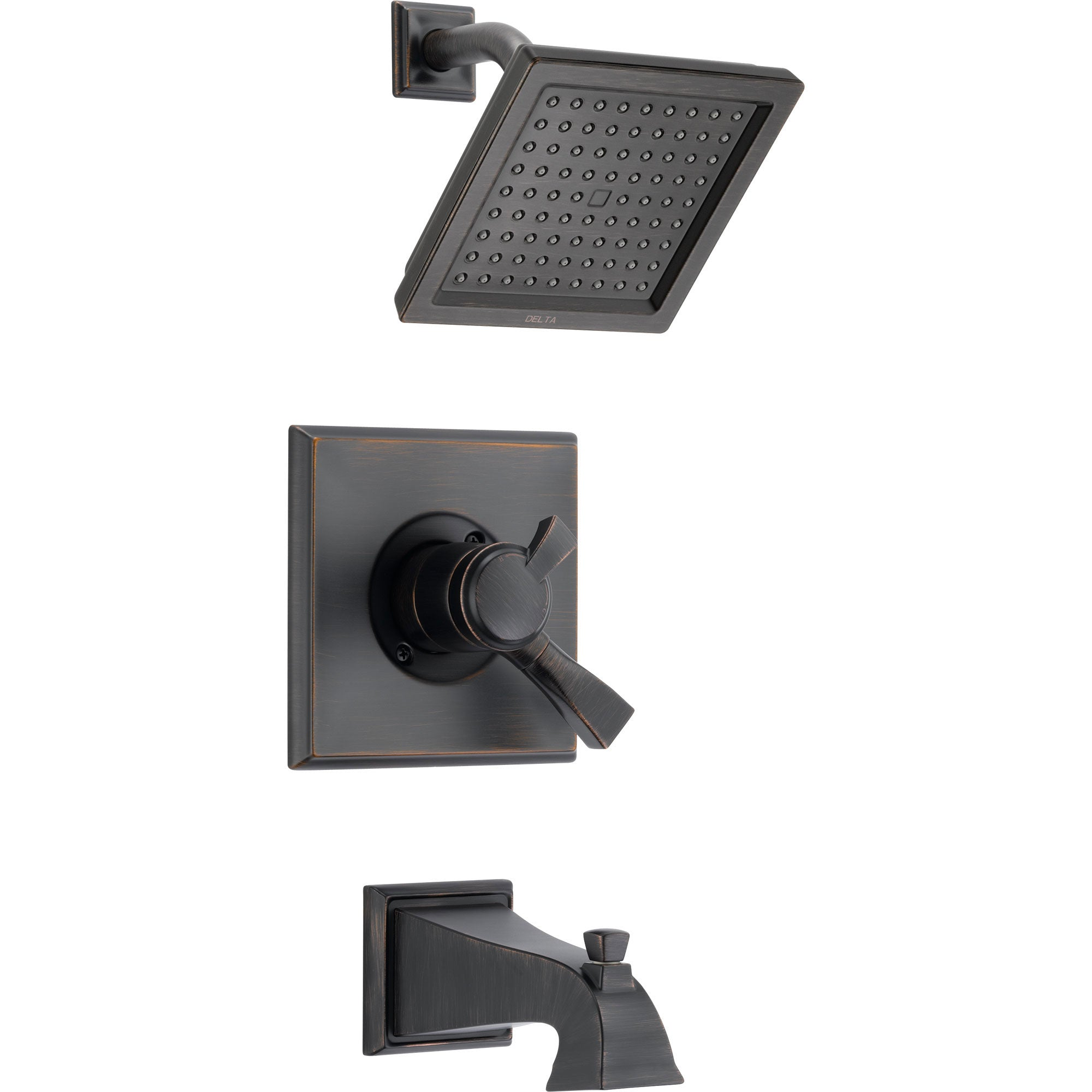 Delta Dryden Modern Temp/Volume Venetian Bronze Tub & Shower Faucet Trim 457049