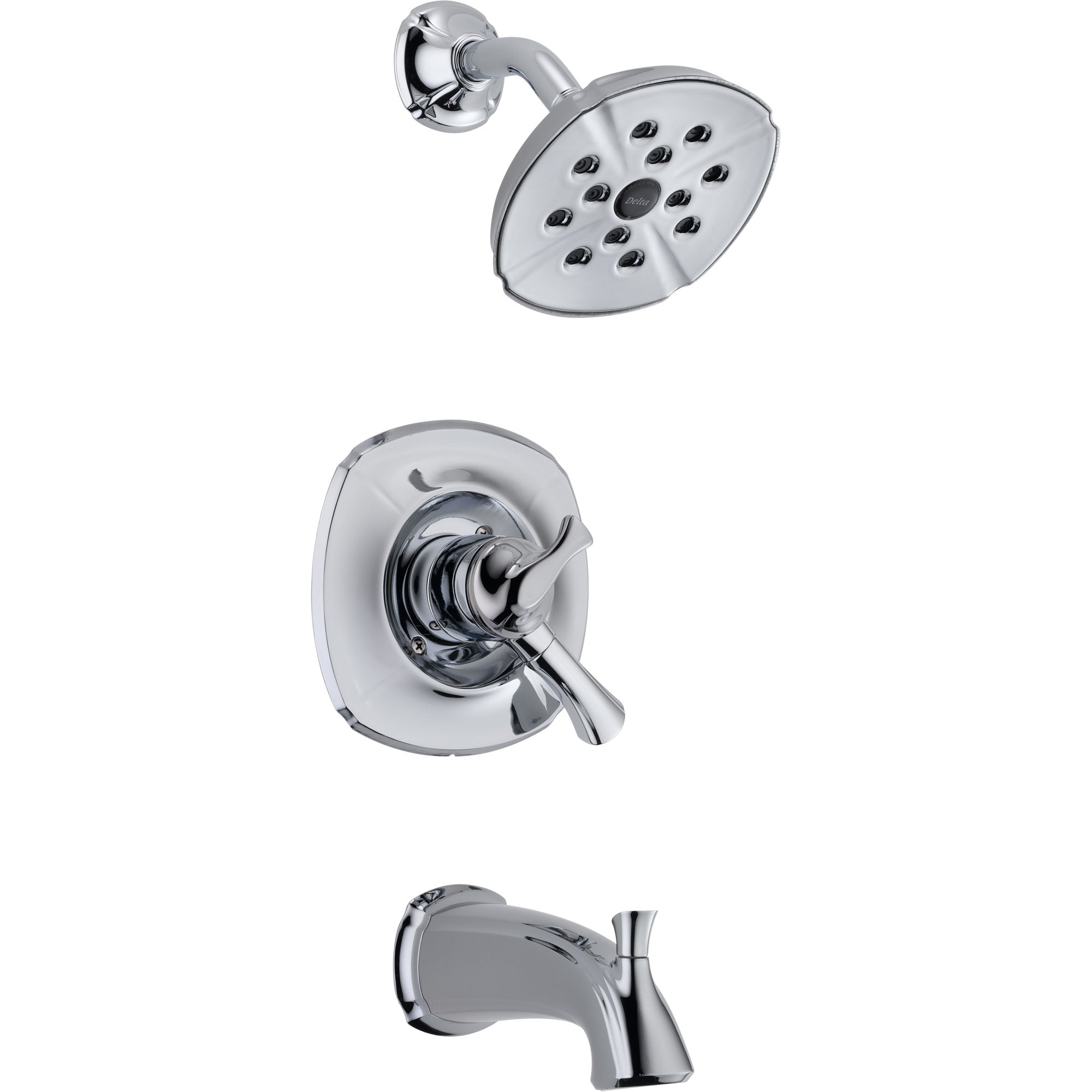 Delta Addison Chrome Dual Control Temp/Volume Tub and Shower Faucet Trim 476419