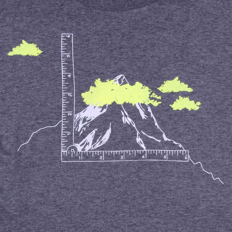 Printed tshirt design outdoor mountains It's not so High