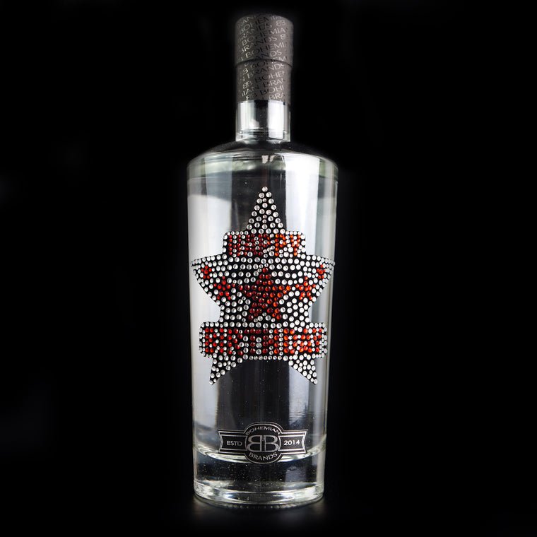 Happy Birthday Gin - Crystal Edition - Bohemian Brands
