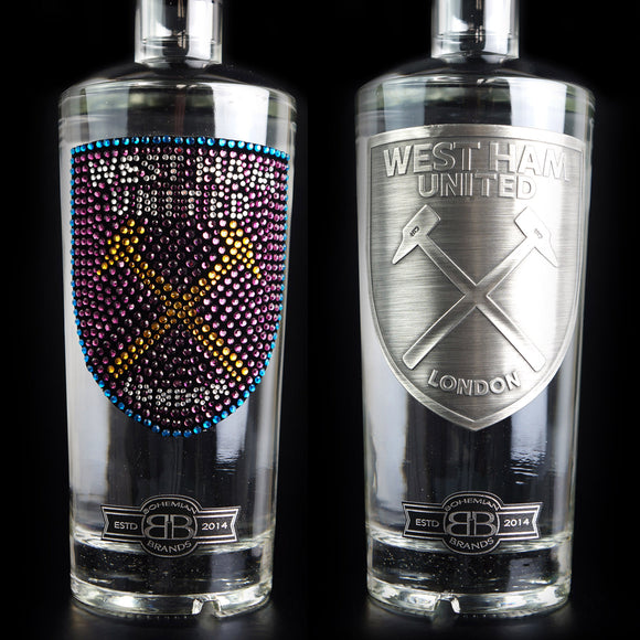 West Ham United FC Vodka Set - Crystal & Pewter Edition - Bohemian Brands