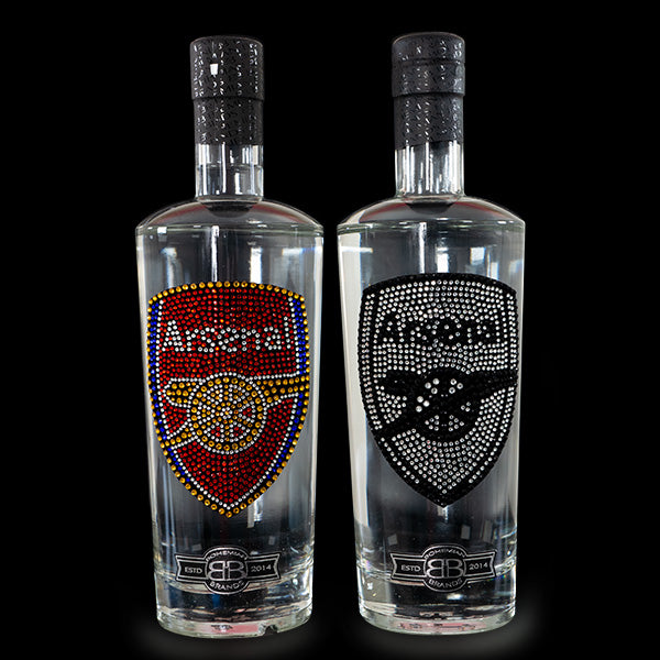 Arsenal FC Gin & Vodka - Crystal Edition Set - Bohemian Brands
