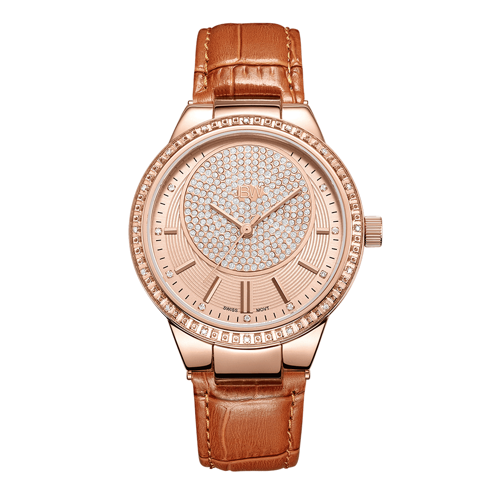 jbw-camille-j6345d-rosegold-brown-leather-diamond-watch-front