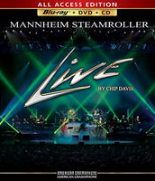 Mannheim Steamroller Live All Access Edition (3 Disc Set Includes Bluray DVD + CD)