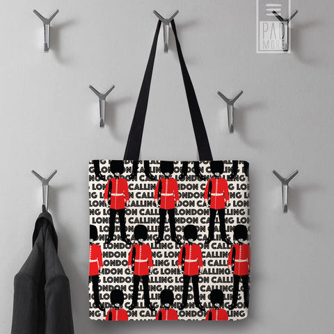 The Queen's Guard London Tote Bag