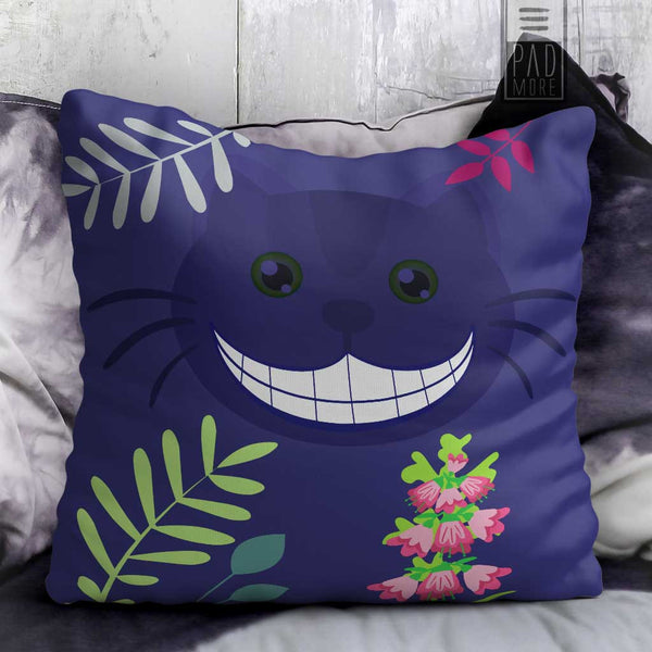 Allie Cat Grin Pillow
