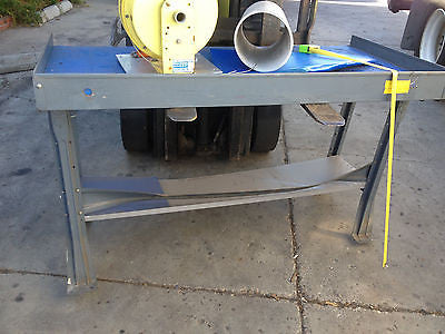 "60""X30"" HEAVY DUTY WORKSHOP TABLE METAL WORKS MACHINERY REPAIRS W/PADDING"