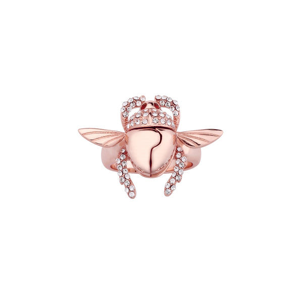 Disney-Aladdin-Golden-Scarab-Ring-Top-view-Rose-Gold-Jewellery-by-Couture-Kingdom-DRR556