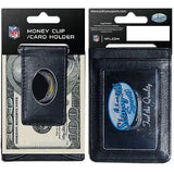 Los Angeles Chargers Fine Leather Money Clip (NFL) Card & Cash Holder