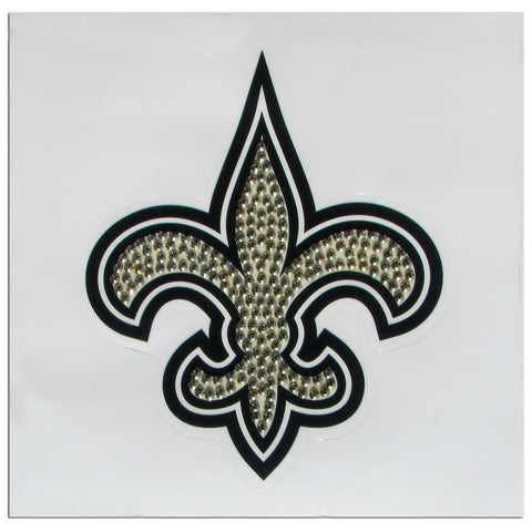 New Orleans Saints Vinyl Bling Auto Decal (NFL) Fleur-de-Lis