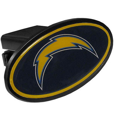 Los Angeles Chargers Durable Plastic Oval Hitch Cover (NFL)