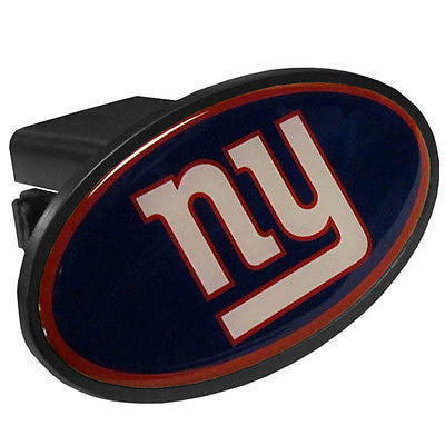 New York Giants Durable Plastic Oval Hitch Cover (NFL)