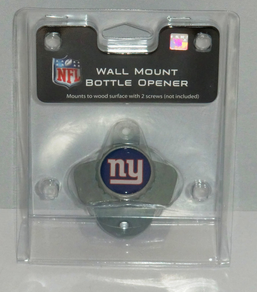 New York Giants Wall Mount Bottle Opener (NFL)