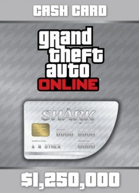 Grand Theft Auto V GTA: Great White Shark Cash Card | Xbox One