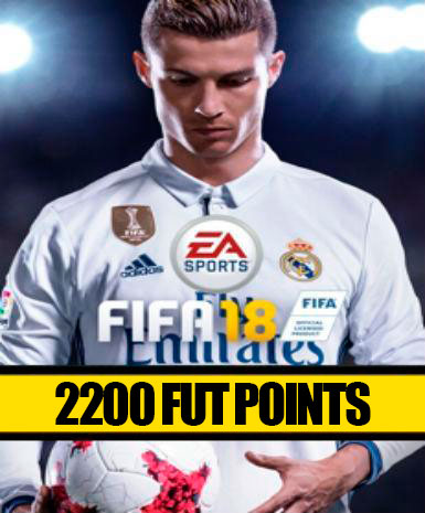FIFA 18 | 2200 FUT Points | Cash Card