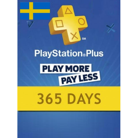 Playstation Network [PSN] | Subscription | 365 Days | Sweden
