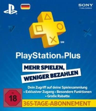 PlayStation Network | Subscriptions | 365 Days | German