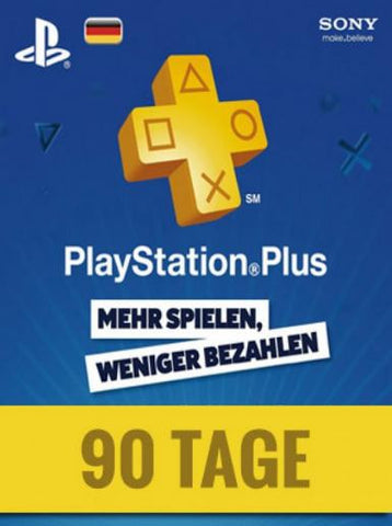 PlayStation Network | Subscriptions | 90 Days | German