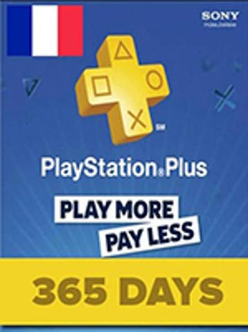 PlayStation Network | Subscriptions | 365 Days | France