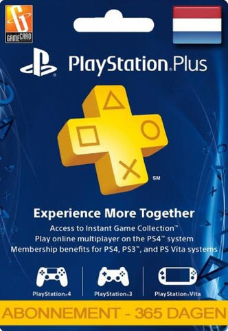 Playstation Network [PSN] | Subscription | 365 Days | Netherlands - www.15digits.co.uk