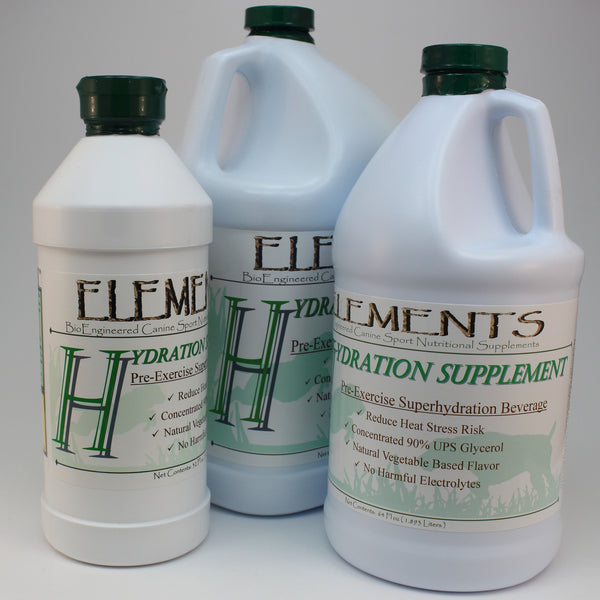 Elements H Product Size Options 32 oz, 64 oz & Gallon