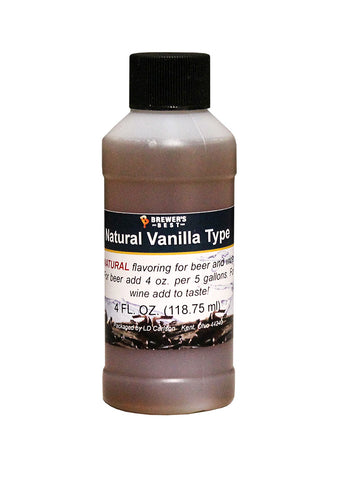Natural Vanilla Type Extract - 4 oz