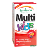 Jamieson Multivitamins for Kids with Iron 60 chewable tablets by Jamieson - Ebambu.ca natural health product store - free shipping <59$