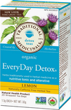 Traditional Medicinals Organic Lemon Everyday Detox 20 bags by Traditional Medicinals - Ebambu.ca natural health product store - free shipping <59$