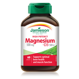 Jamieson Magnesium 500 mg + D3 High Potency 60 caplets by Jamieson - Ebambu.ca natural health product store - free shipping <59$