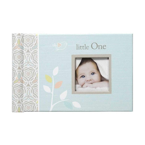 CR Gibson Gifts & Apparel CR Gibson Linen Tree Baby Photo Brag Book