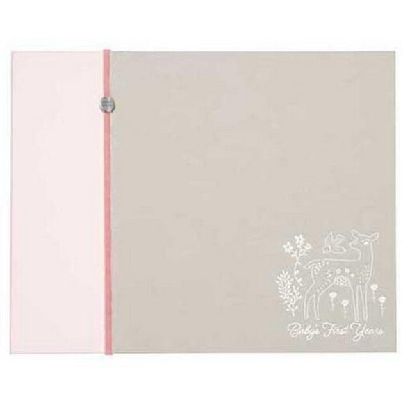 CR Gibson Gifts & Apparel CR Gibson Little Deer Postbound Memory Book