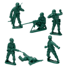 Schylling Green Army Men 40 Piece Jumbo Bag-Toys-Babysupermarket
