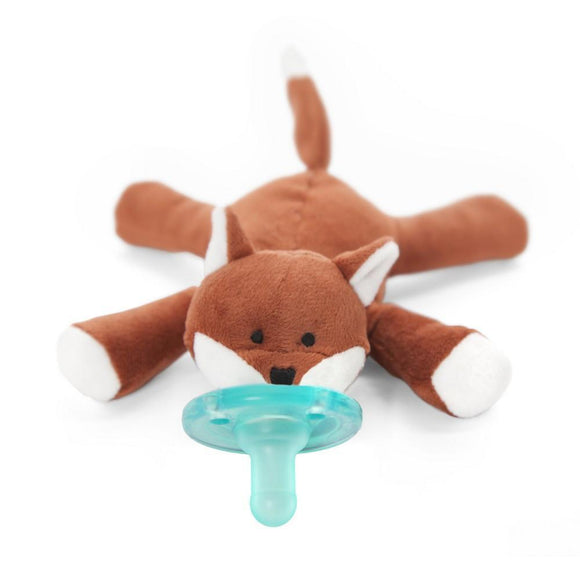 WubbaNub Pacifier Holder Fox-Baby Care-Babysupermarket
