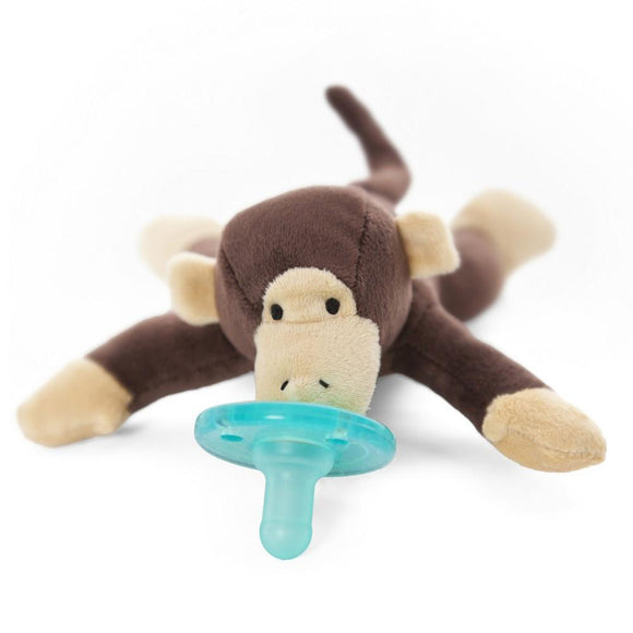 WubbaNub Pacifier Holder Monkey-Baby Care-Babysupermarket