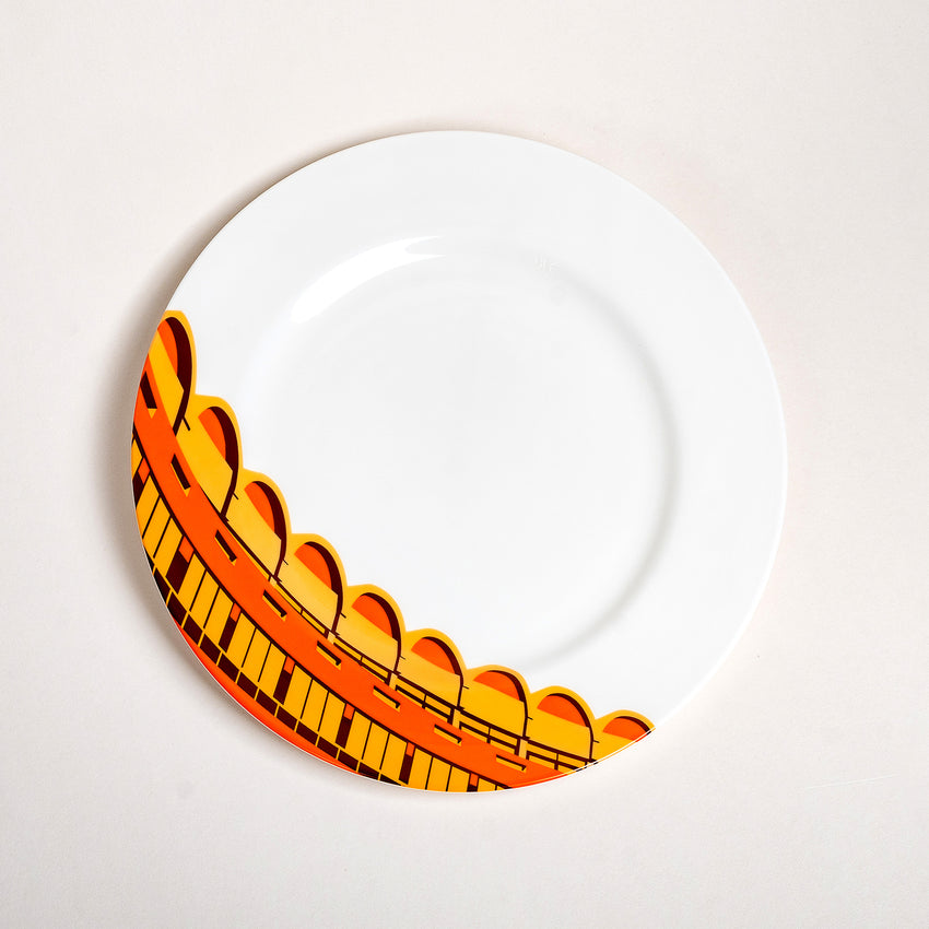 Barbican: Frobisher Crescent - Plate