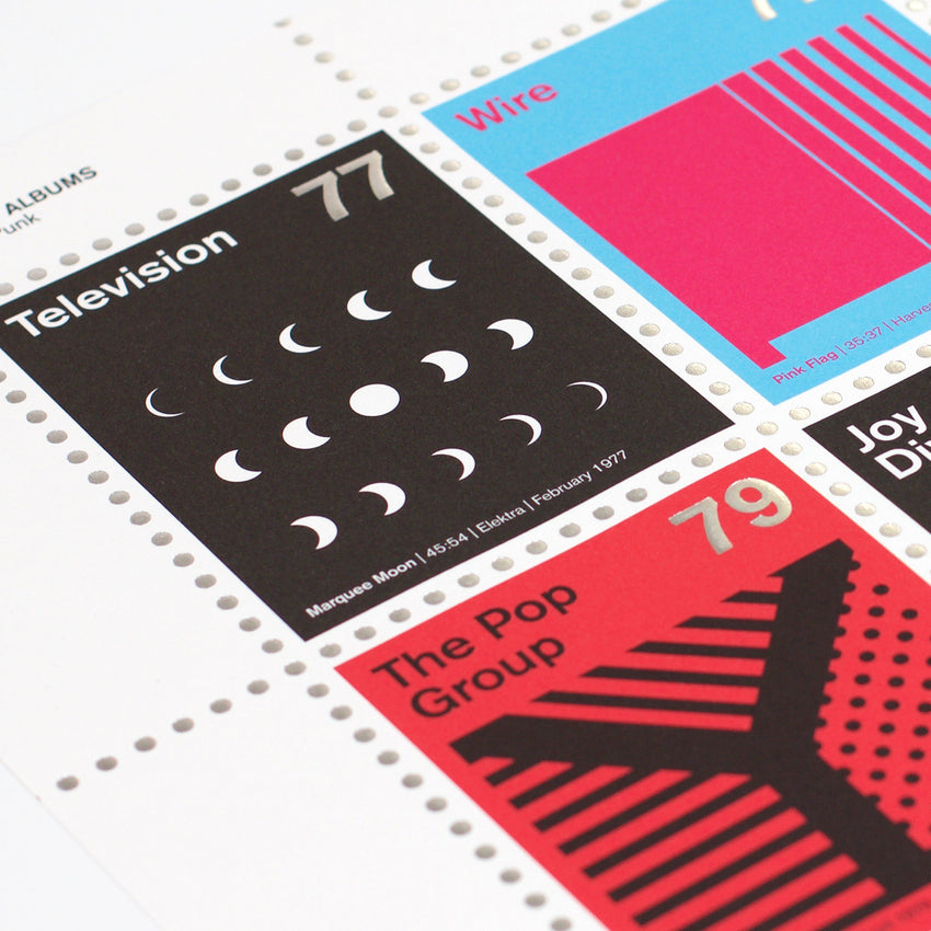 Stamp Albums: Post-Punk