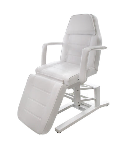 Electric Spa Treatment Table - 3 Motor - White Color