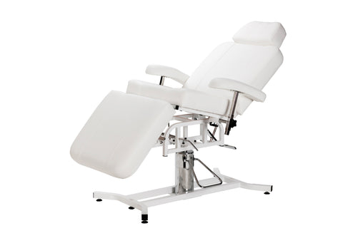 Hydraulic Facial Table & Chair with 360° Swirl