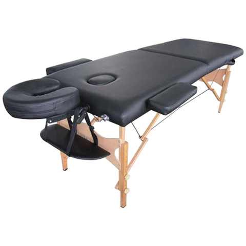 Portable Massage Table w/ Wooden Legs