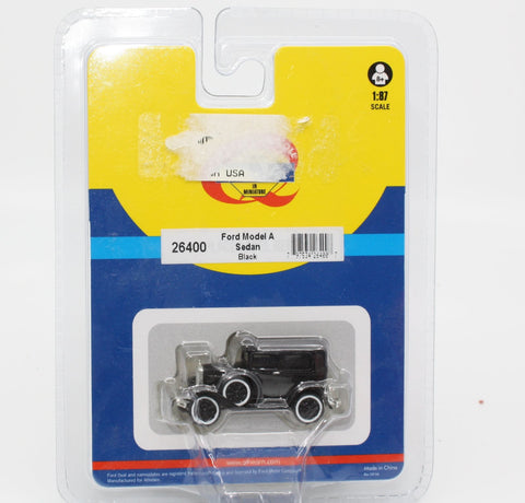 Athearn 26400 HO Black Model A Sedan Ready-to-Run