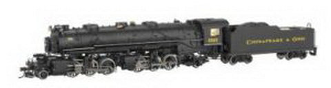 Spectrum 84803 Chesapeake & Ohio 2-6-6-2 USRA Steam Locomotive #1521 w/Sound