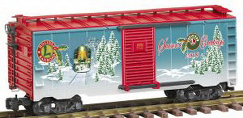 Lionel 8-87034 G 2010 HOLIDAY BOXCAR
