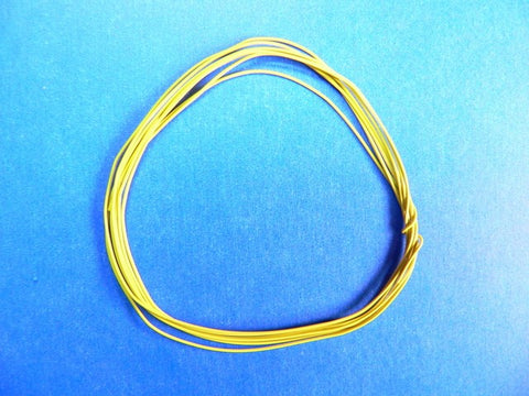 Detail Master/Modeltyme Design 1054 1:24-1:25 2ft Race Car Ignition Wire-Yellow