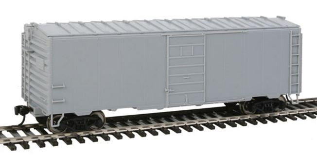 Walthers 910-2350 HO Undecorated - 40' PS-1 Boxcar