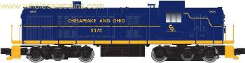 Atlas 10001969 HO Chesapeake & Ohio Alco RSD4/5 Exhaust w/Sound & DCC #5575