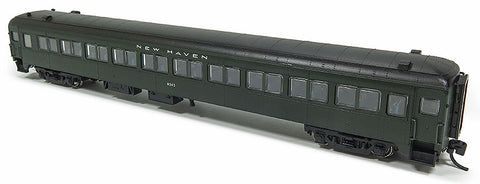 Rapido Trains 509017 N New Haven Lightweight 10-Window Coach No Skirts #8210
