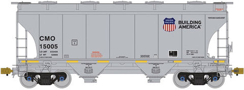 American Limited Models 1004 HO CMO 3281Cu.Ft. 2 Bay Cvrd Hopper #15169