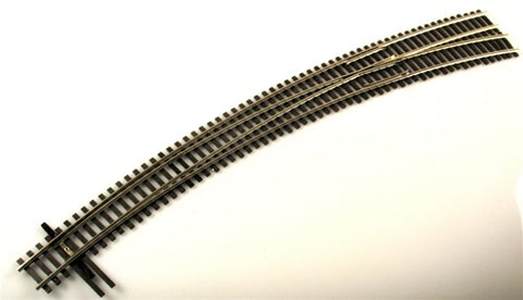 Shinohara Track 129 HO Code 100 Nickel Silver #8 Right Hand Switch Turnout